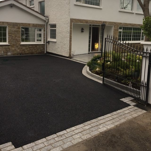 Resin Bond driveways paving by Kilcroney Paving Contractors Dublin