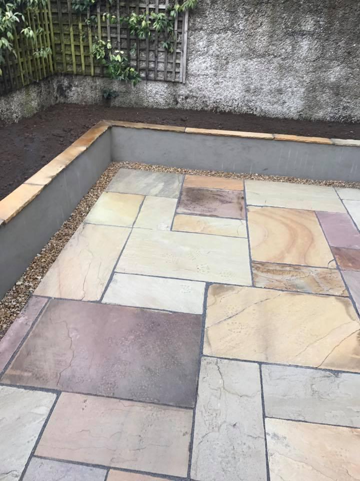 Garden patio ideas dublin